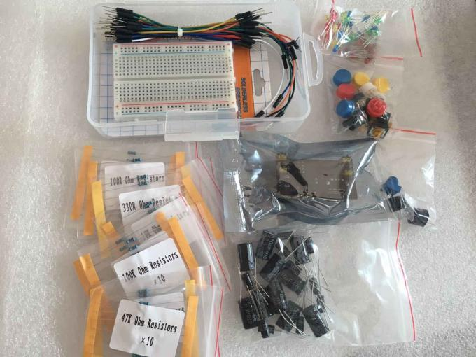 Electronic Solderless Breadboard Kit with 400 Point Breadboard / LED / Resistor