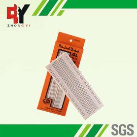 China ABS Plastic Solderless Breadboard 840 Tie- Points Test Pink Board supplier