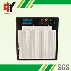 China 3260-points big-size Electronic Solderless Breadboard with 4 Binding Posts Size 18x18.4x0.85 (cm) supplier