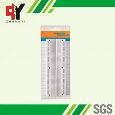 China Prototyping Electronics Starter Kit Breadboard with Screw Hole supplier