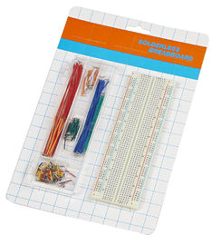 China size 16.5x5.4x0.85cm  breadboard (830 points) and 70 pcs jump wire and wire jumper wire kit supplier