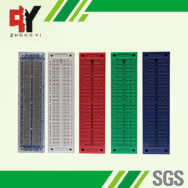 China Square Hole Solderless Breadboard Projects Printed Circuit Board Prototyping supplier