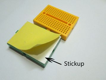 Yellow Mini 170 Point Breadboard With Buckle