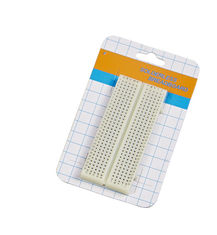 China Experimental Solderless Breadboard Projects , 300 Points White Lab Testing Breadboard Circuit Projects supplier