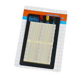 1500 Points Black Plate Solderless Breadboard Kit with 3 Binding Posts