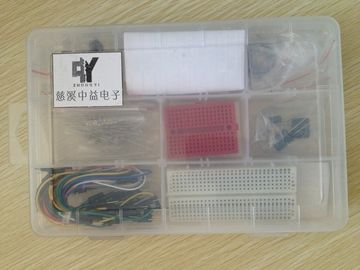 China Small Solderless Breadboard Experiment Project Kit With Many Components supplier