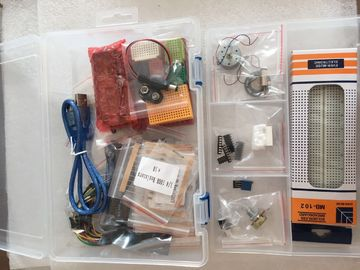 China Electronic Components Solderless Breadboard Kit For DIY Experiment Circuit Test supplier
