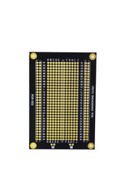 China Overload Protection Prototyping PCB Board 94 * 64mm Black Fr-4 PCB Breadboard supplier