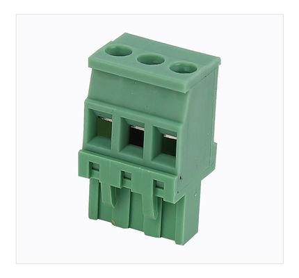 2P Electrical Plug-In Terminal Block Wire Range 28 Awg 12 Awg