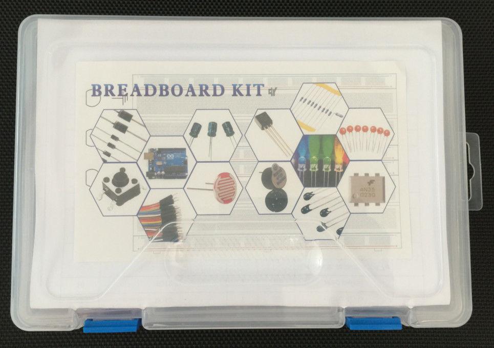 Random colour electronic kit 830 point solderless bread for Random diys