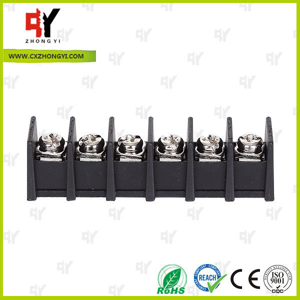 7.62mm Barrier Style Terminal Blocks with Wire Range 22AWG - 12 AWG