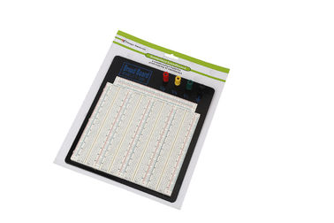 Students Simple Circuits Solderless Breadboard 18.8 * 18.4 * 0.85cm For Experiment