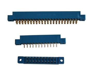 ABS Housing 3.96 Mm Card Edge Slot Connector For PCB Board Eco - Friendly