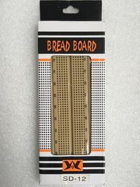 840 Point Light Brown Electronic Breadboard Circuits Projects For Beginners