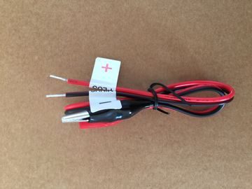 Red / Black Alligator Test Clip Wires Solderless Breadboard Jumper Wire Kit