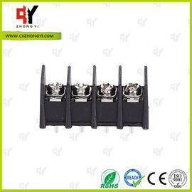 300V / 30A 9.5mm  Connector Terminal Block PA66 UL94V-0 Material