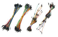 Electrical DIY Breadboard Jumper Wires , Flexible Solid Core Jumper Wires